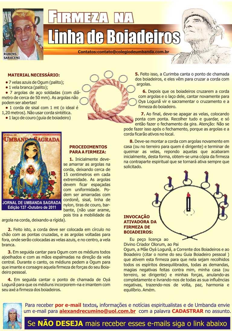 , mago, escritor e dirigente do Templo Escola Pai Benedito de Aruanda