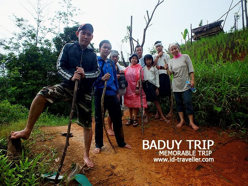 Perjalanan menuju Baduy Dalam bersama ID-Traveller