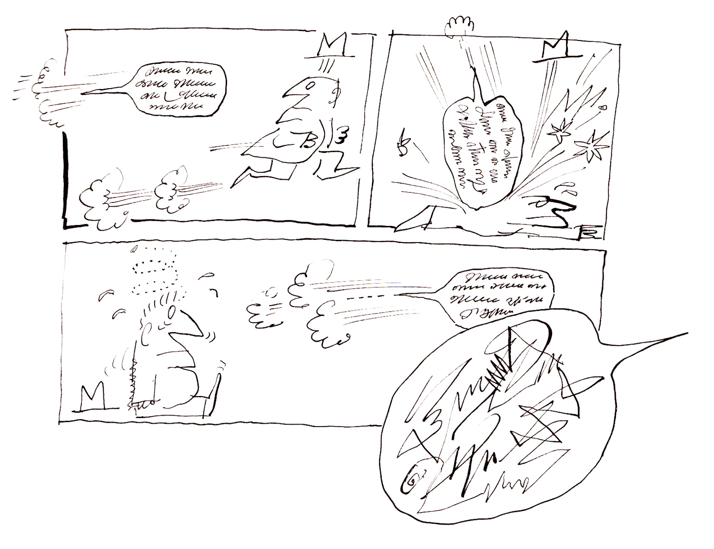 Cartoon Simple January 2013 Fuse Box Comic By Saul Steinberg