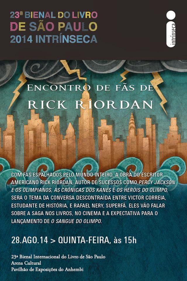 Encontro de Fãs de Rick Riordan