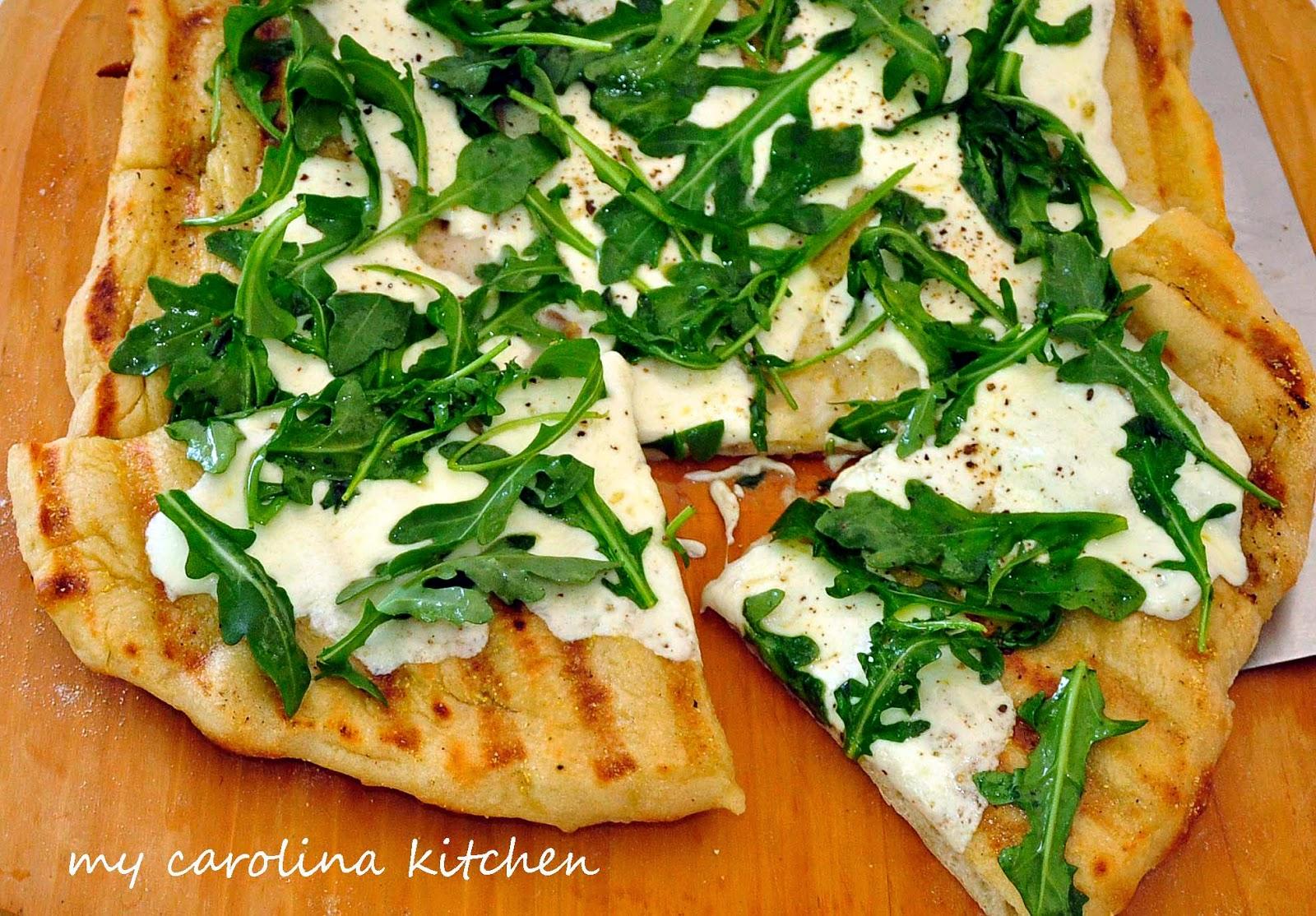My Carolina Kitchen: Pizza on the Grill