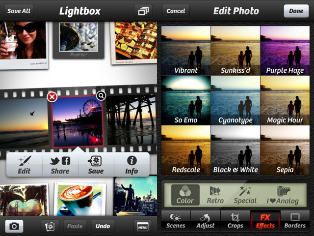 most wanted Mobile apps for photographers Camera+