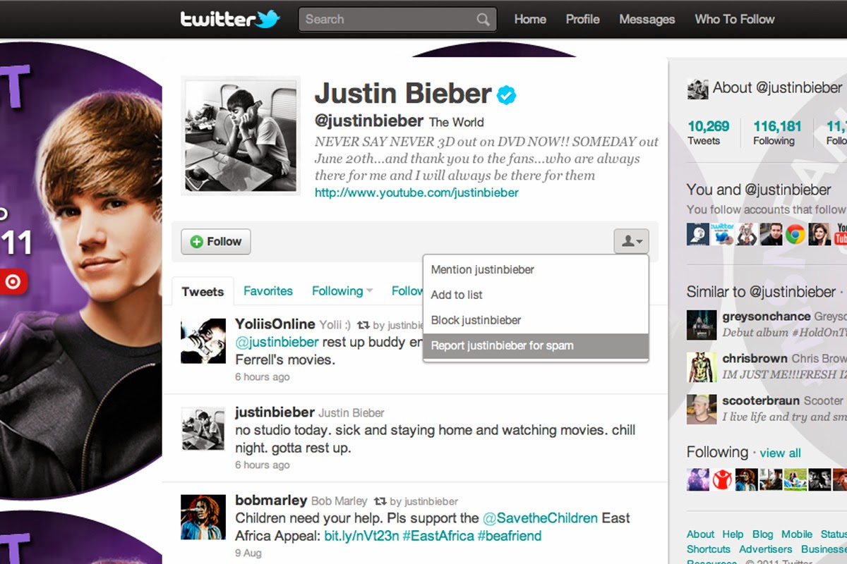 Twitter, Water and Justin Bieber | BigEvidence