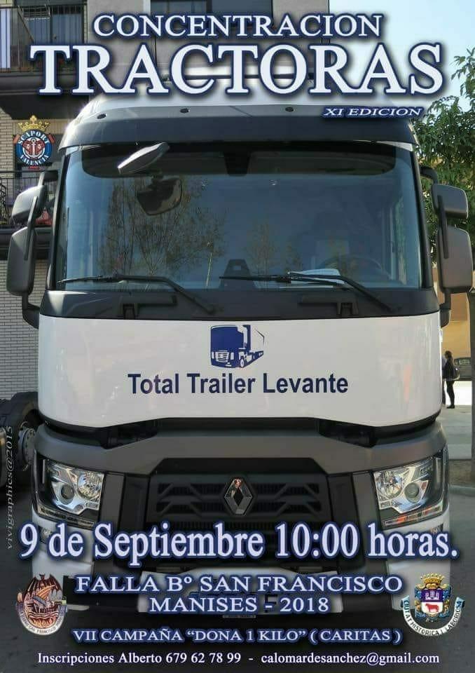 09.09.18 CONCENTRACIÓN DE TRACTORAS EN EL Bº S. FCO.