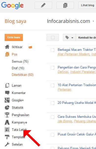 Cara Menambahkan Gadget Featured Post di Blogger Blogspot