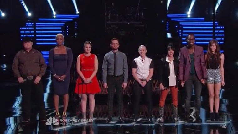 The Voice 6x22 – Top 8: Results