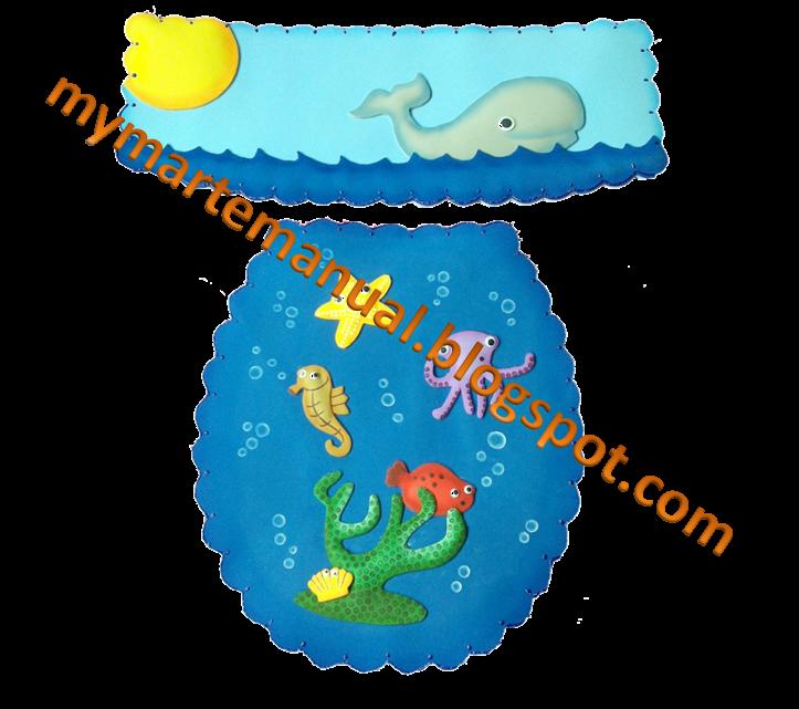 Juegos De Baño Hechos Con Fomi:Podemos diseñar especialmente para tí el juego de baño con el