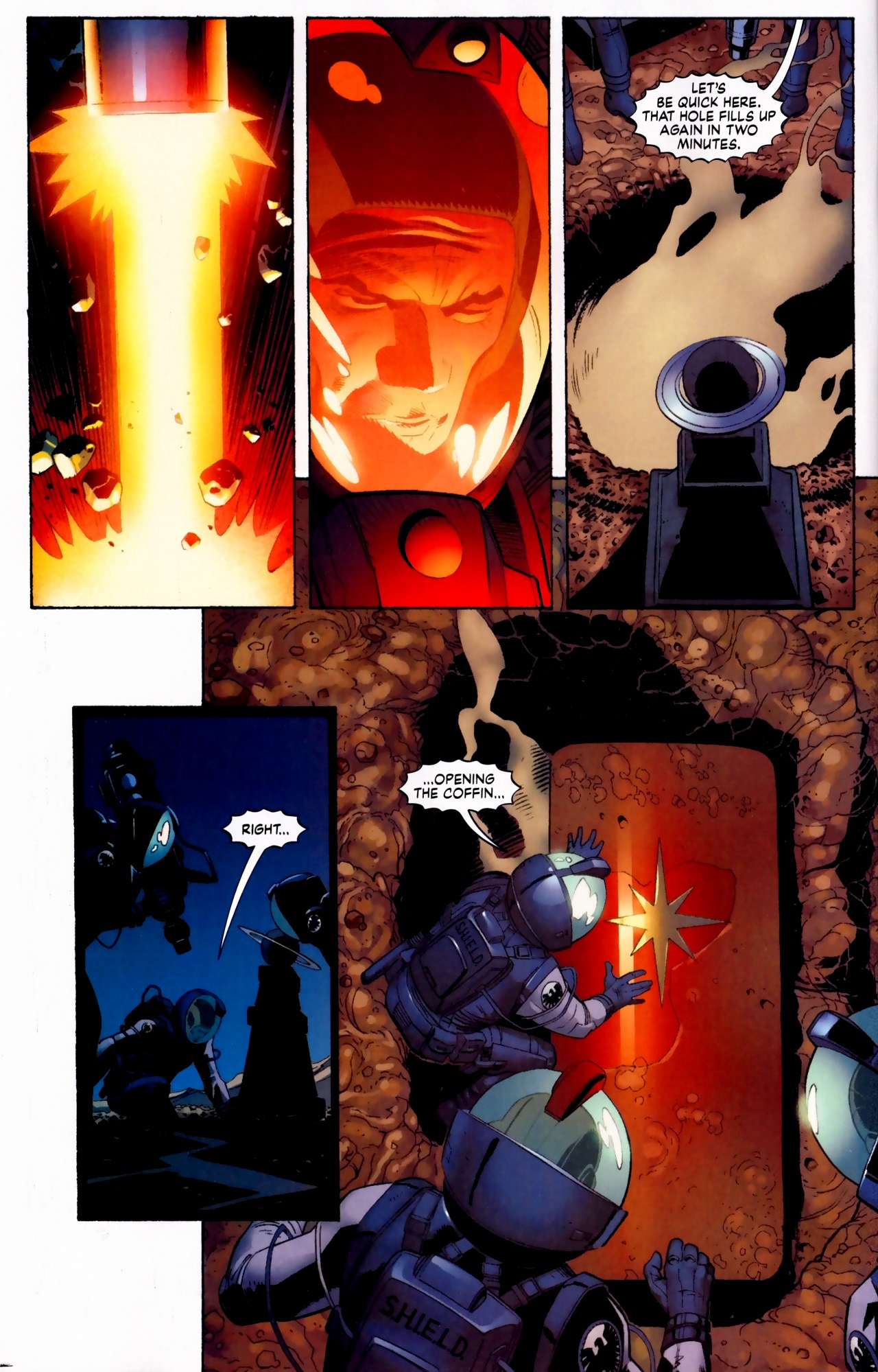 Read online Secret Invasion: The Infiltration comic -  Issue #5 - 3