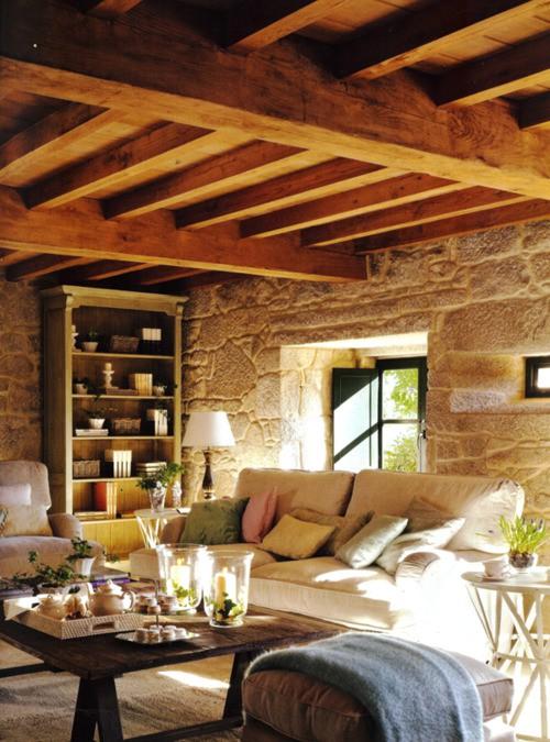 Spicer bank by allison egan daydreaming sunny living room - Cocinas estilo rustico ...