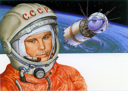 yuri gagarin russian astronaut - photo #24