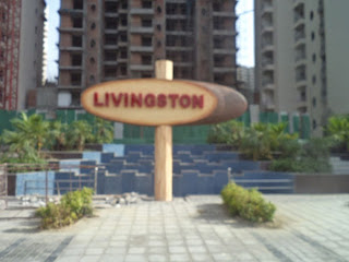 Livingston:: Construction Status on July 2014:-Fountain