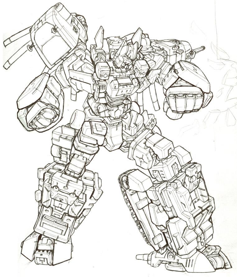 Desenhos para Colorir Transformers Transformers