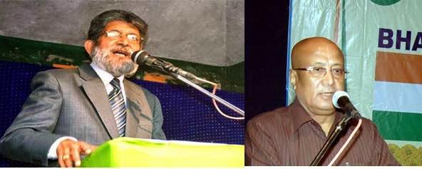 DDUDF spokesperson P Arjun - Bharatia Gorkha Parisangh  president Enos Das Pradhan