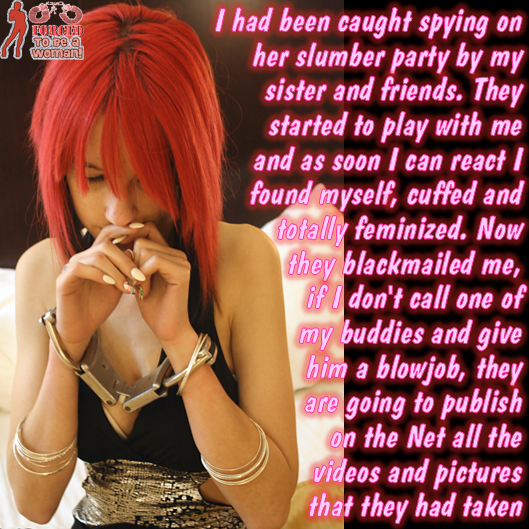 blackmailed mom story