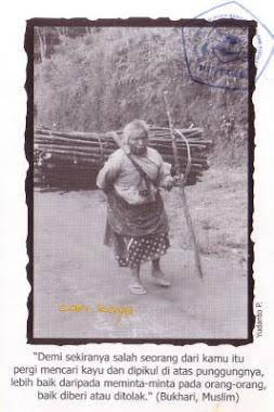 """Postcard """"Cari Kayu"""""""
