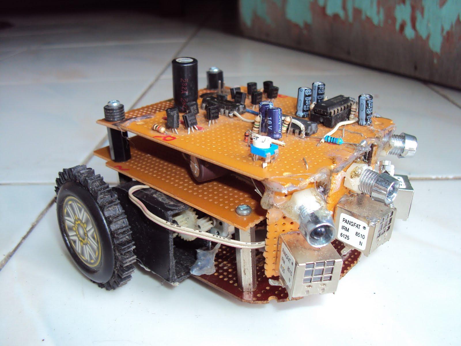 Elektro KU UBB: Robot Obstacle Avoidance