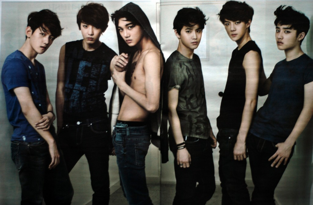 EXO-K, Bad Boys, Super Junior, Wonder Boyz