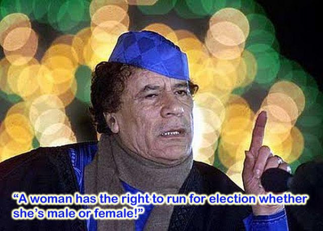 FUNNY MUAMMAR AL-GADDAFI LIBYAN DICTATOR FUNNY PICTURES ...