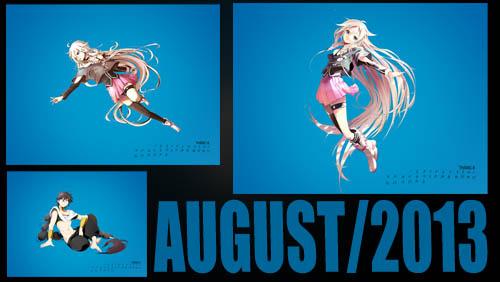 Hình nền tháng 8/2013 + Game!