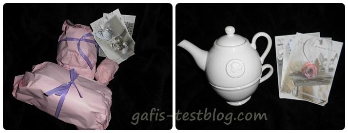 Teeset - Teekännchen mit Tasse