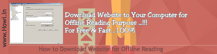 Download Website for Offline Reading
