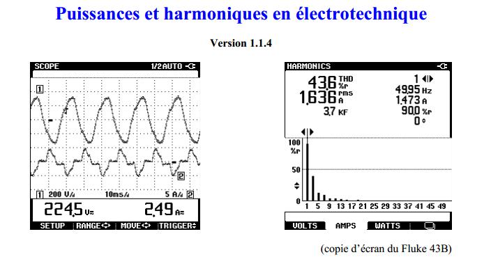 cours puissances et harmoniques en lectrotechnique cours d 39 electrom canique. Black Bedroom Furniture Sets. Home Design Ideas