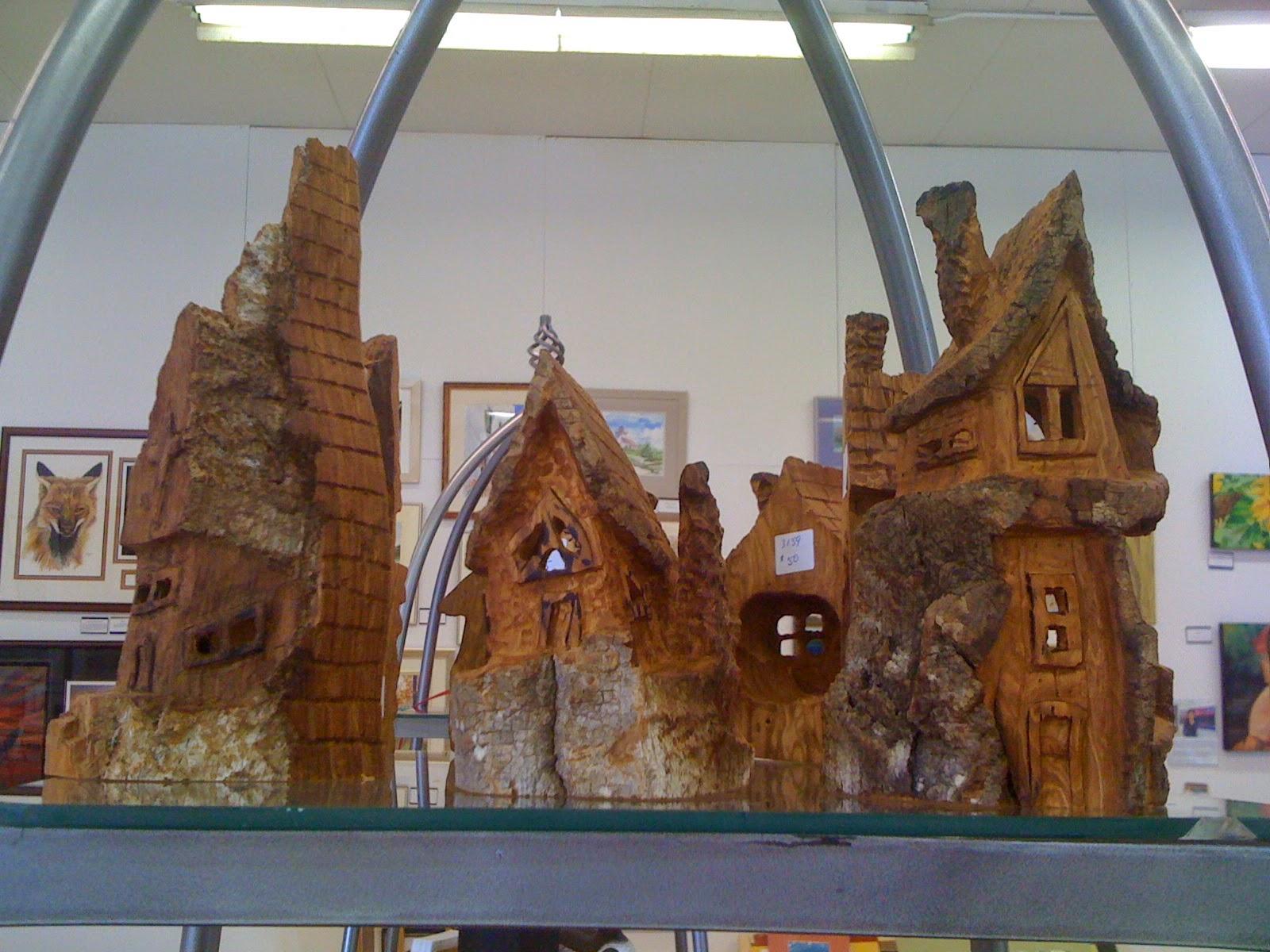 Randy Bloye, carver, sculptor,