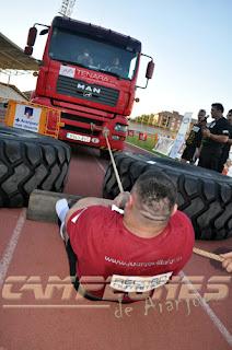 Grand Prix de Fuerza de Aranjuez arrastre de camión
