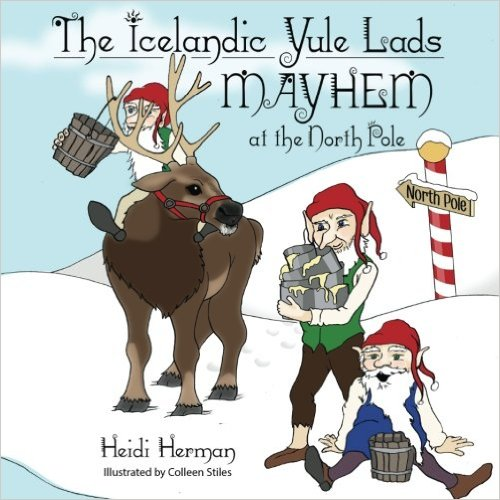 The Icelandic Yule Lads Mayhem at the North Pole