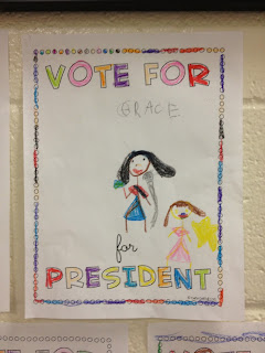 Little Miss Glamour Goes To Kindergarten: election results.
