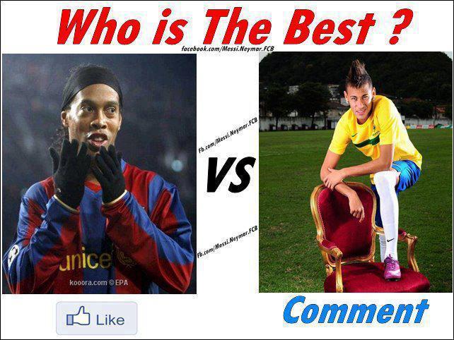 Neymar Vs Ronaldinho 2012 Ronaldinho Vs Neymar |...