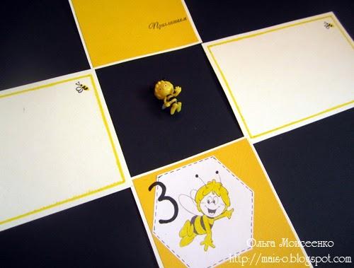 тематический день рождения - пчелка Майя, пчелиный день рождения