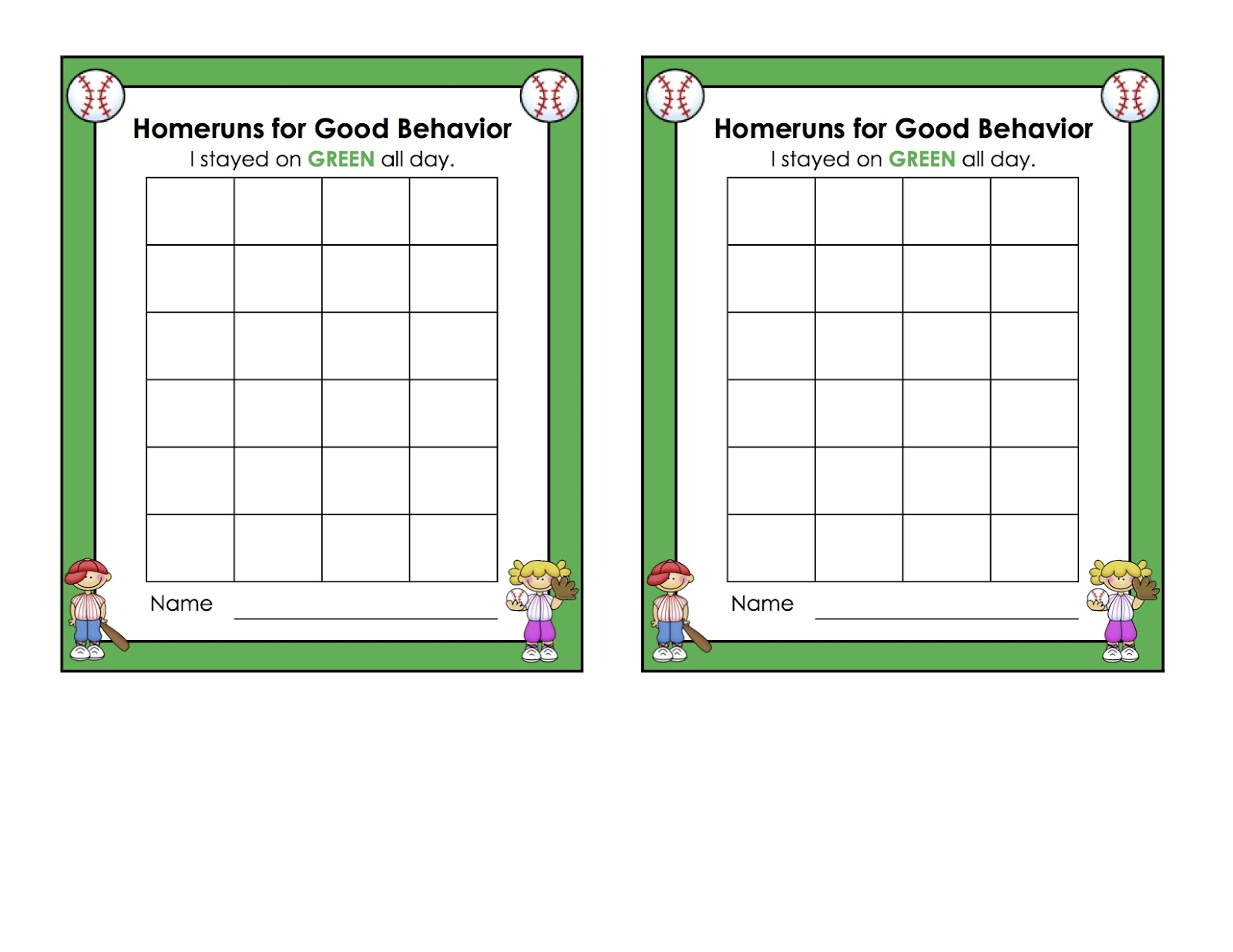... year old you can grab a free copy of my behavior incentive chart here