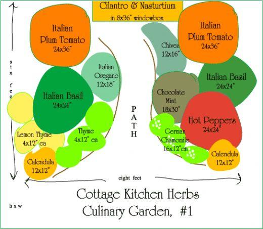 The Green Grub Designing A Herb Garden