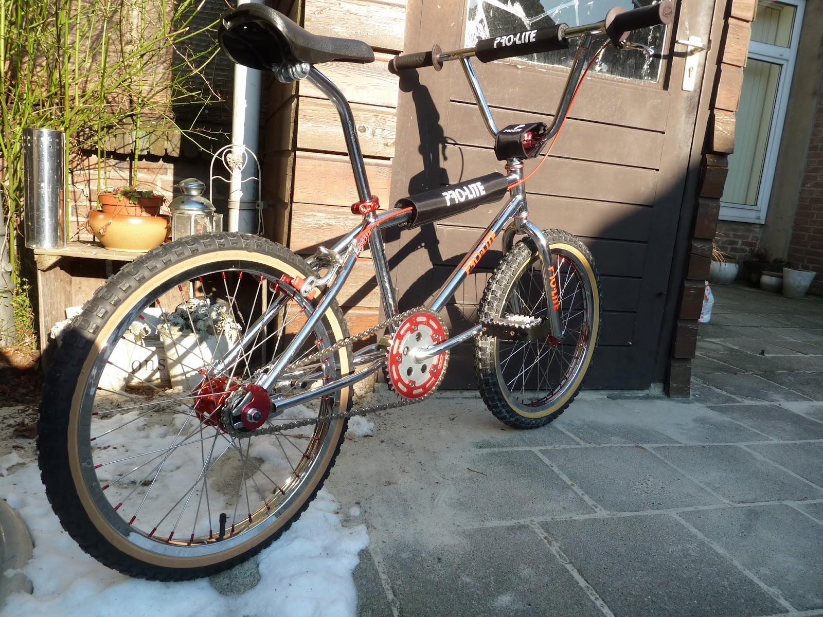 Pro Lite Bmx Bike From 1983 Restored By Hoodlum Society