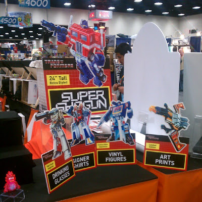 San Diego Comic-Con 2012 Super7 x Transformers Display