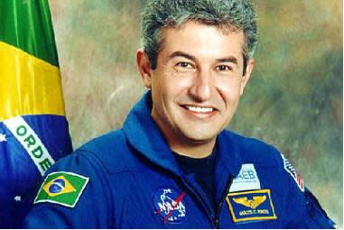 Marcos Pontes - astronauta/agente de viagens