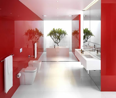 Simple Bathroom Decoration Color Idea1