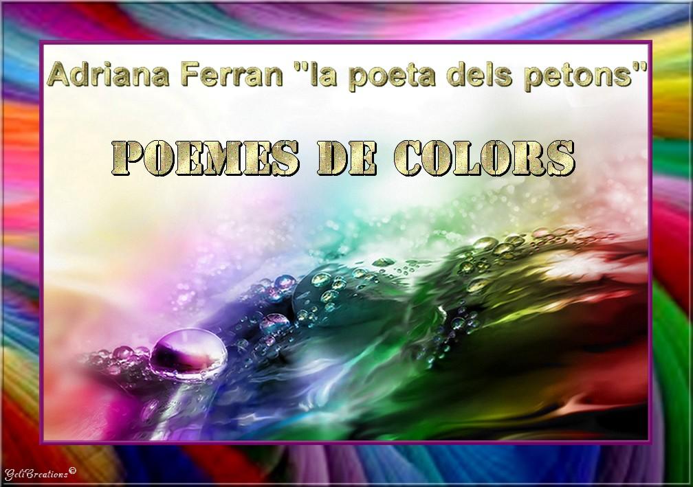 Poemes de Colors per Adriana Ferran