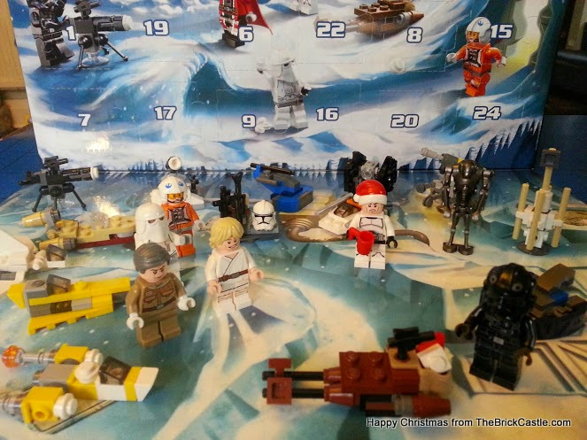 The LEGO Star Wars Advent Calendar Dec 21st 2014