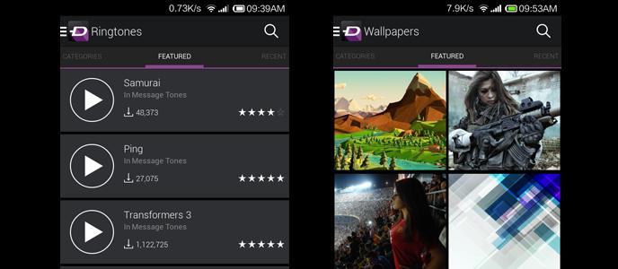 Aplikasi Android Terbaik untuk Cari Wallpaper dan Ringtone