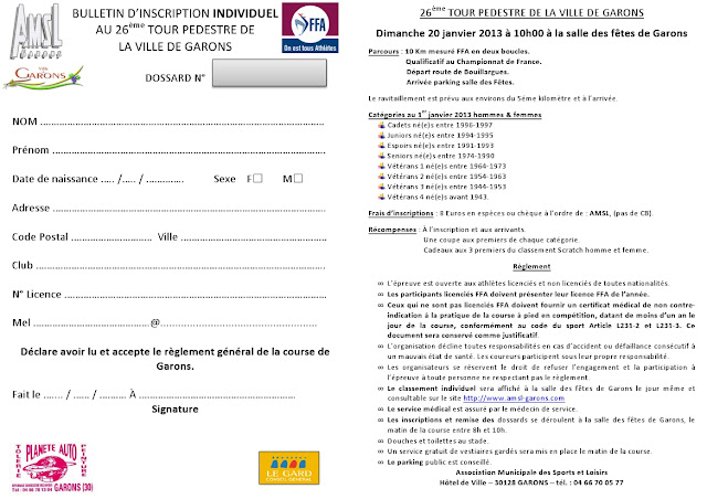 T l c running and co tour p destre - Www le palet com competitions coupes bulletins d inscriptions ...