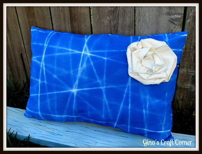 DIY Fabric Designed Pillow