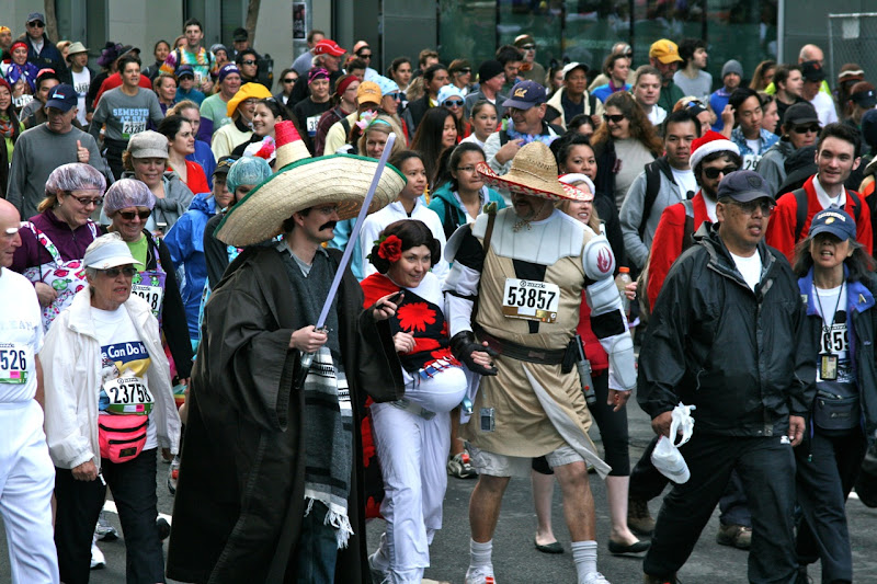 Star Wars costumes 100th Bay to Breakers