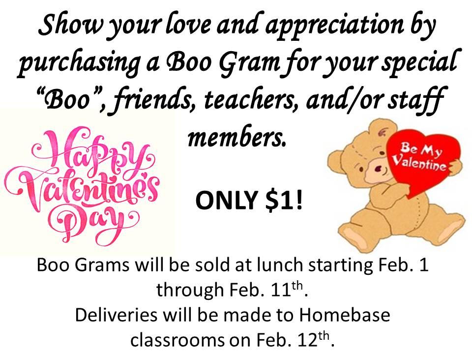 Valentineu0027s Day BOO GRAM
