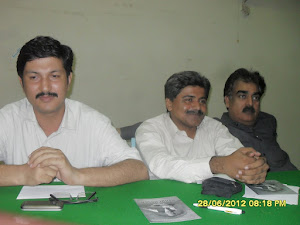 Dr.Ayoub Shaikh, Zulfiqar Behan and Muzafar Memon