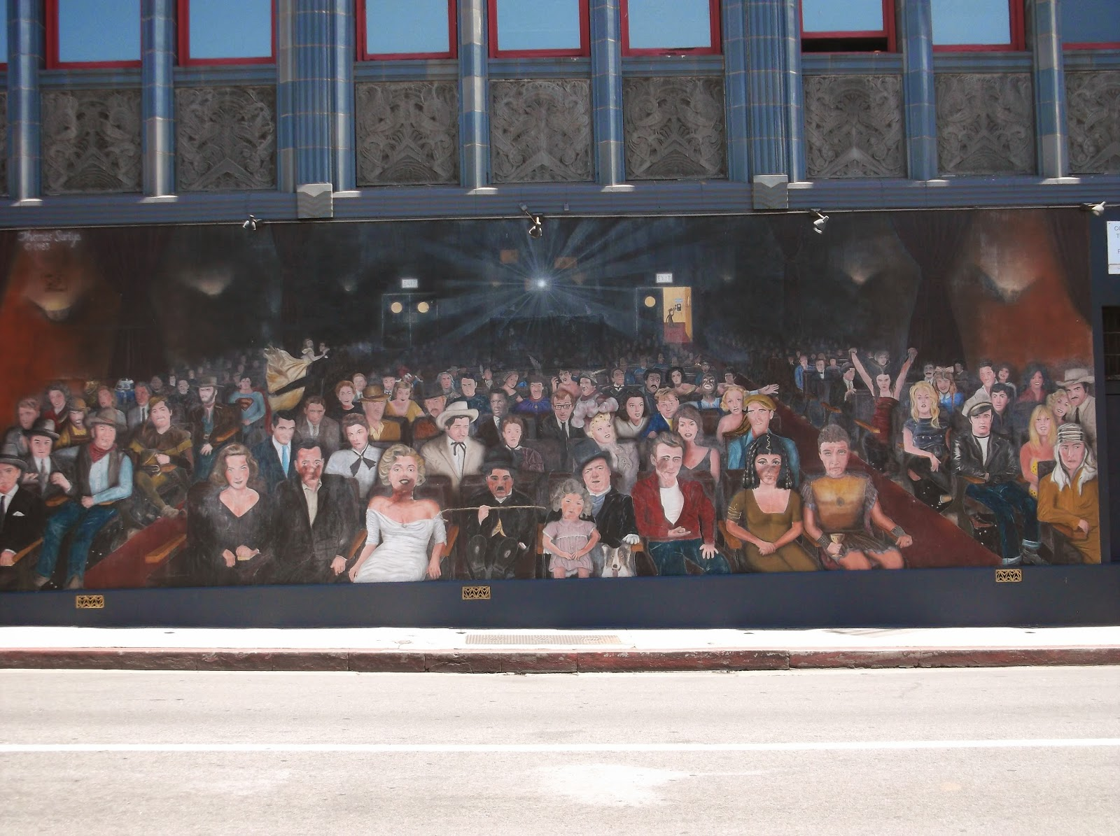 filming locations of chicago and los angeles modern girls 0 49 walking by a mural that is the