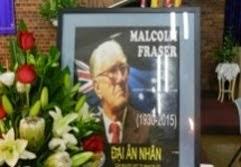Former PM: MALCOLM FRASER