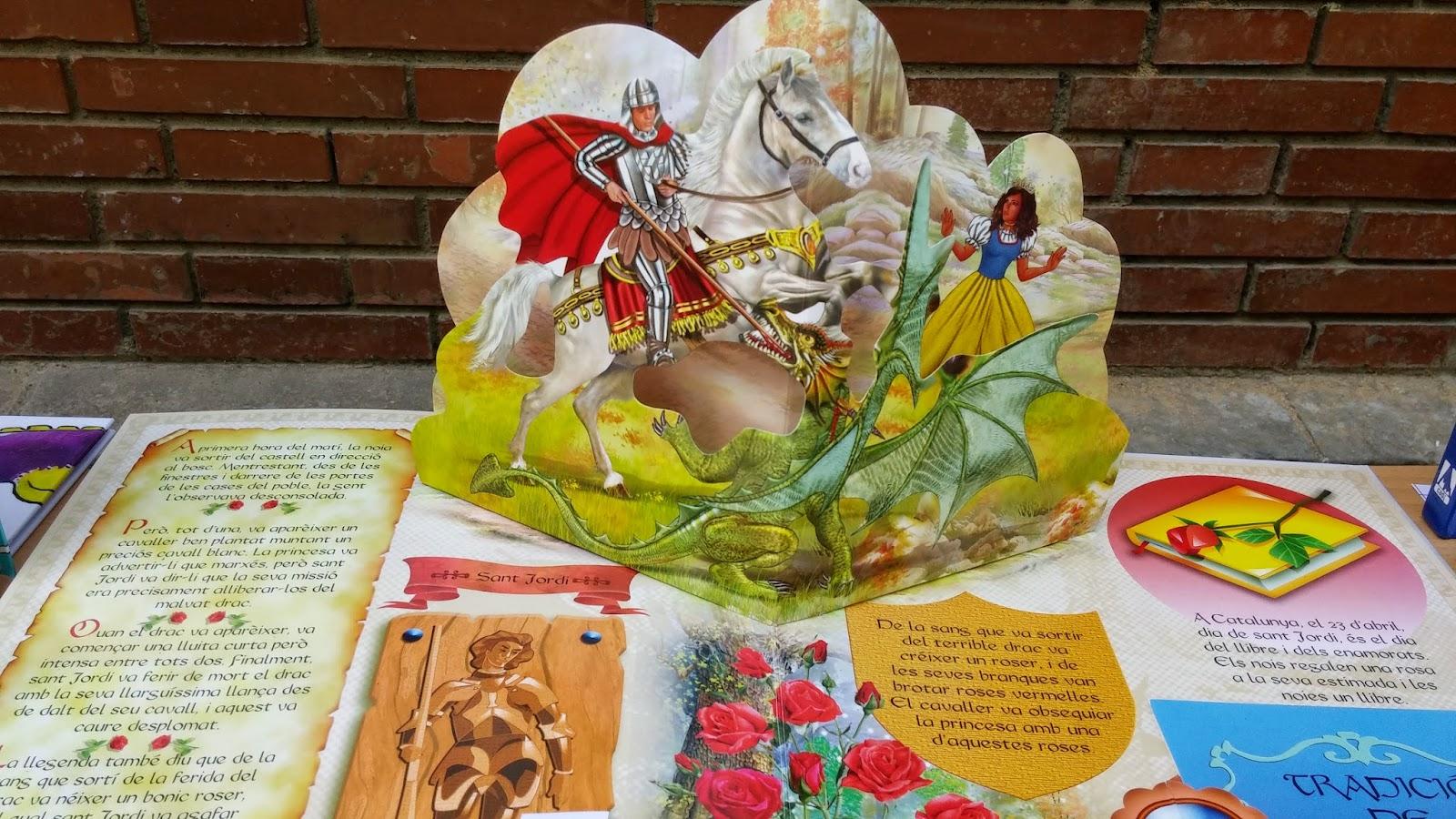 Fes clic aquí per veure les fotos de Sant Jordi