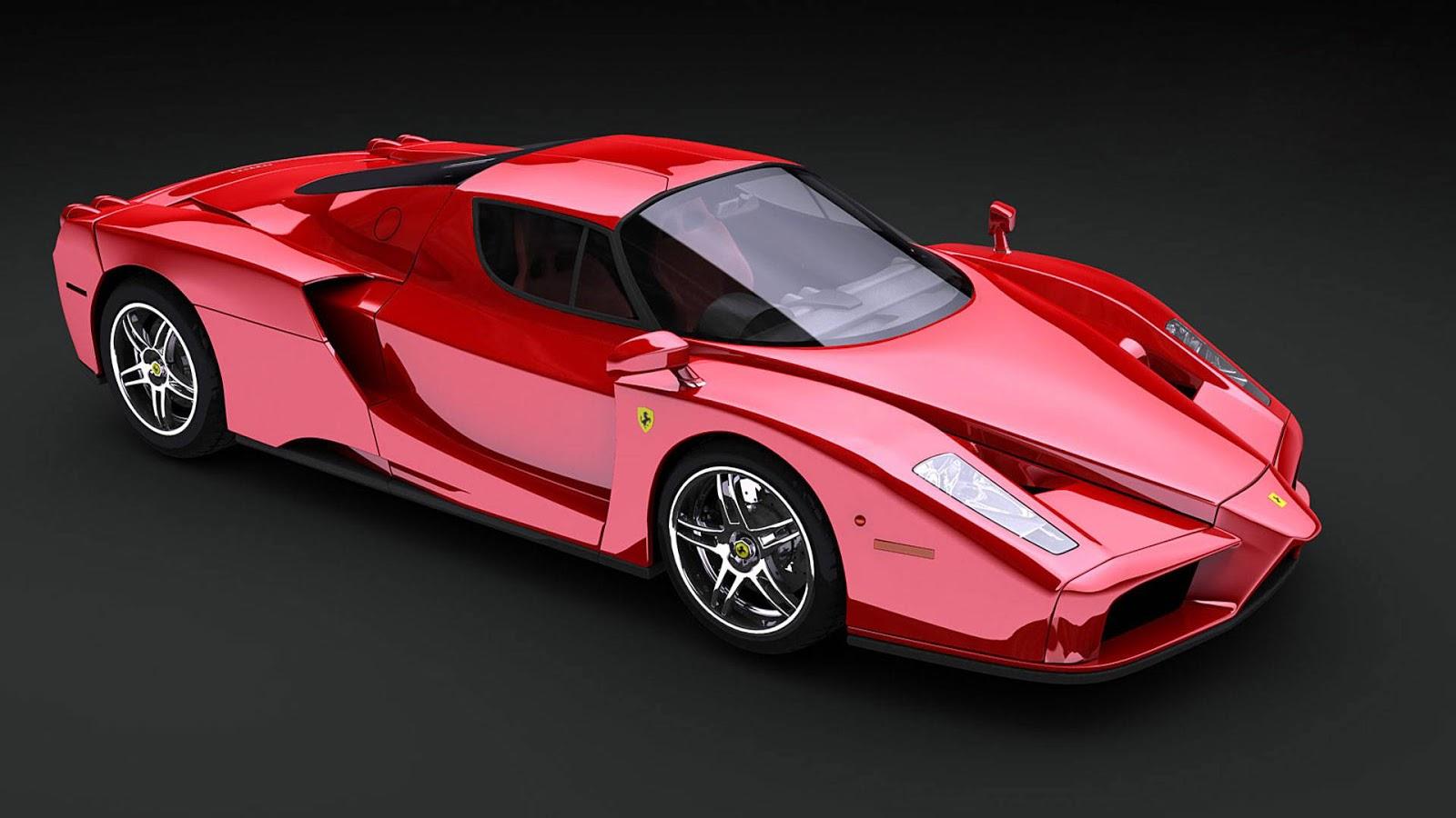 super cars - Ferrari Enzo 2013 White